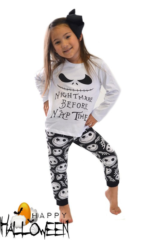 Nightmare Before Nap Time 2 Piece set - Girls