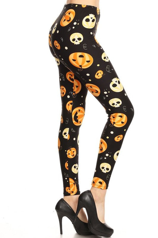 Pumpskulls - Women's Plus Size Leggings