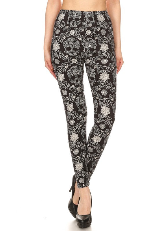 Soulless Sugar Skulls - Women's One Size Leggings