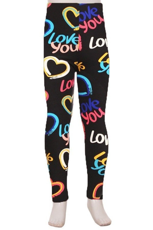 Steal My Heart - Girls Leggings