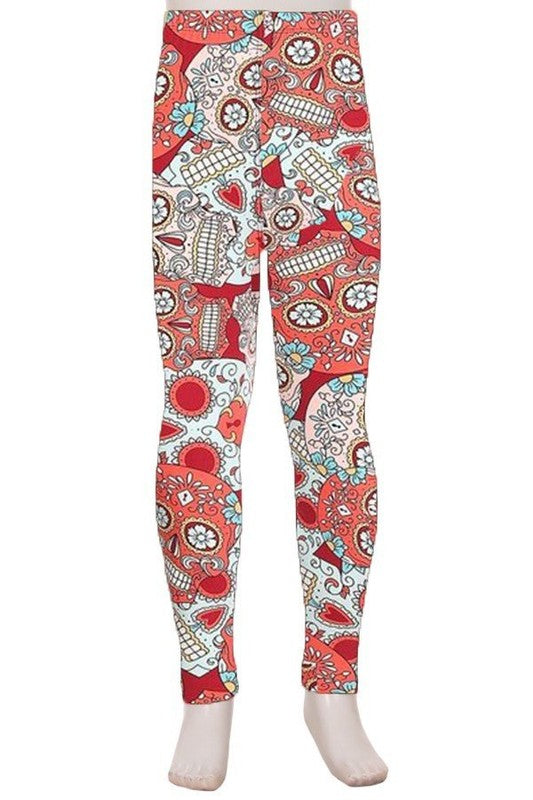 Skull Passion - Girls Leggings