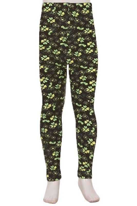 Field of Clovers - Girls Leggings