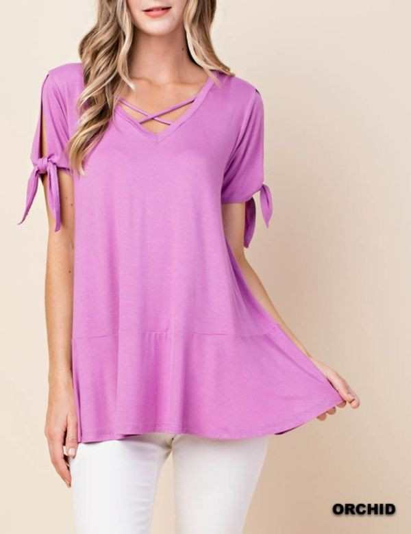 The Veronica - Women's Tunic in Orchid