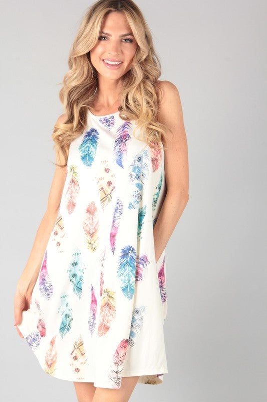The Skye - Women's Plus Size Sleeveless Dress
