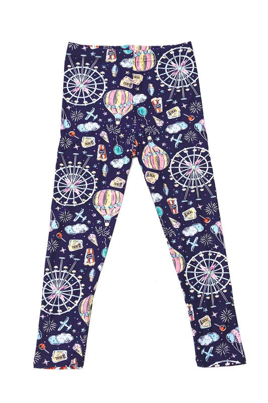 Cotton Candy Carnival - Girls Leggings