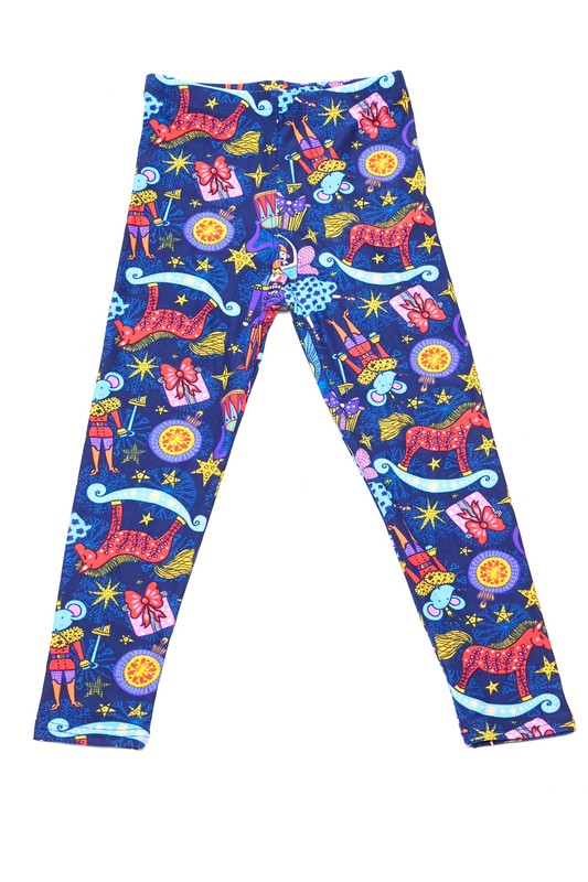 Nutcracker Meets Sugar Plum Fairy - Girls Leggings