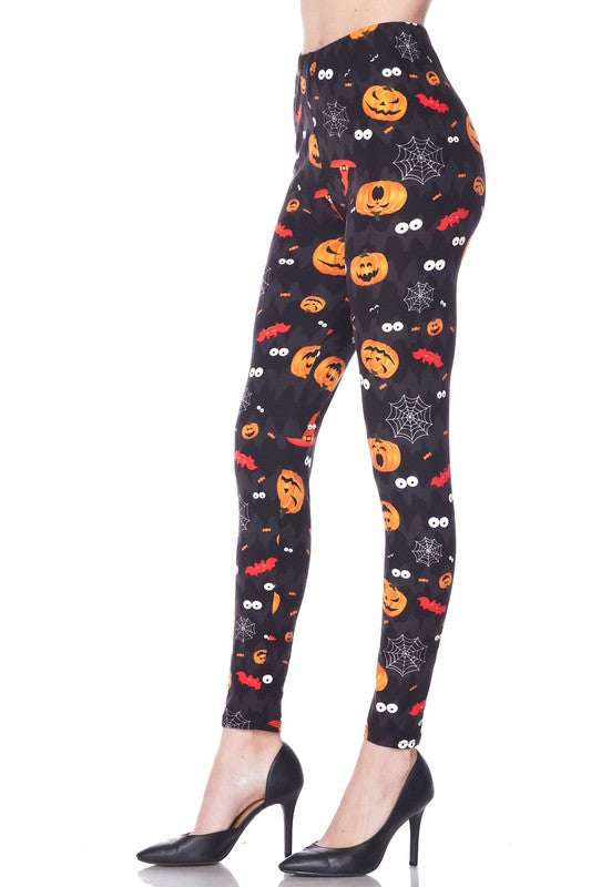 Fright Night - Women's Plus Size Leggings