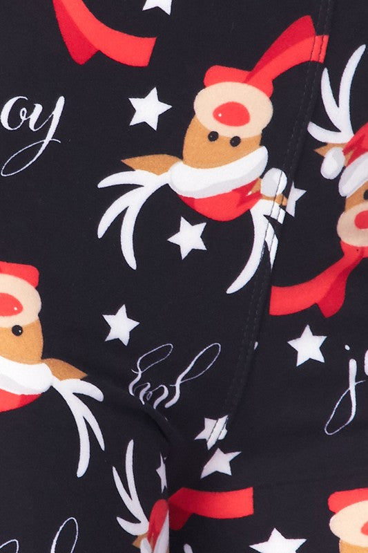 Reindeer Clause - Women's Extra Plus Size Leggings