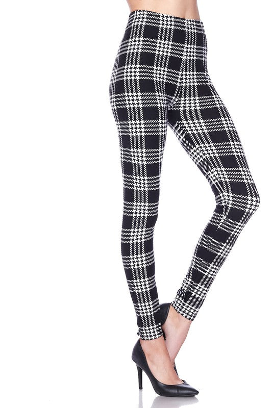 Plaid for Days - Women's One Size Leggings