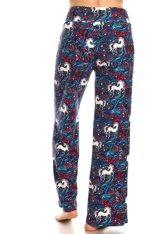 Unicorn Dreams - Women's Pajama Lounge Pant