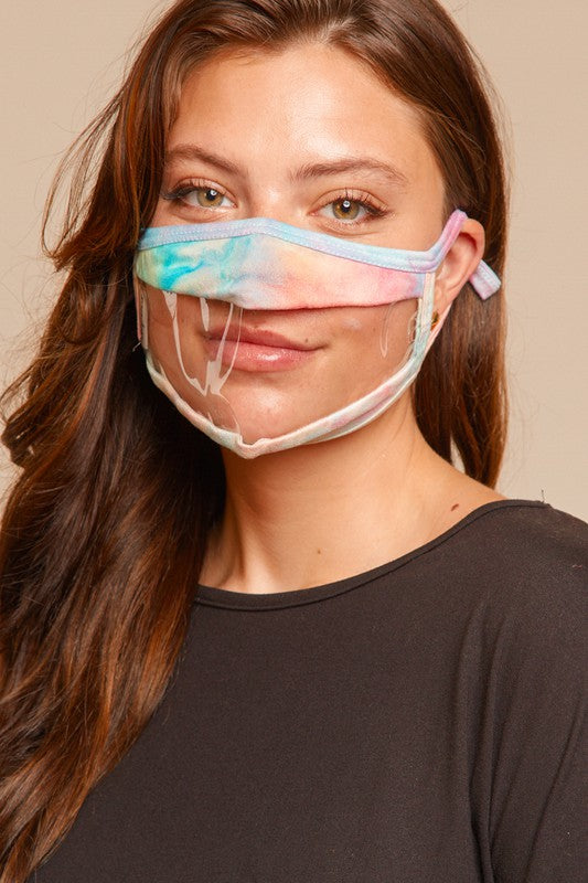 Face Mask with Clear Window - Kids or Adult