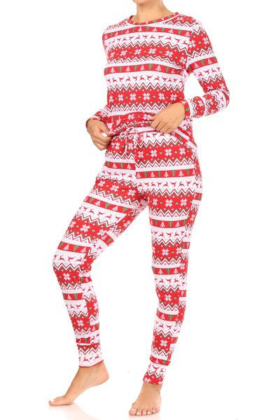 Holly Jolly Winter - Women's Pajama Set