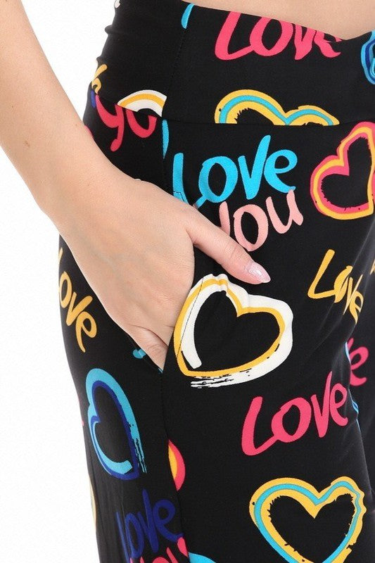 Steal My Heart - Women's Pajama Lounge Pant