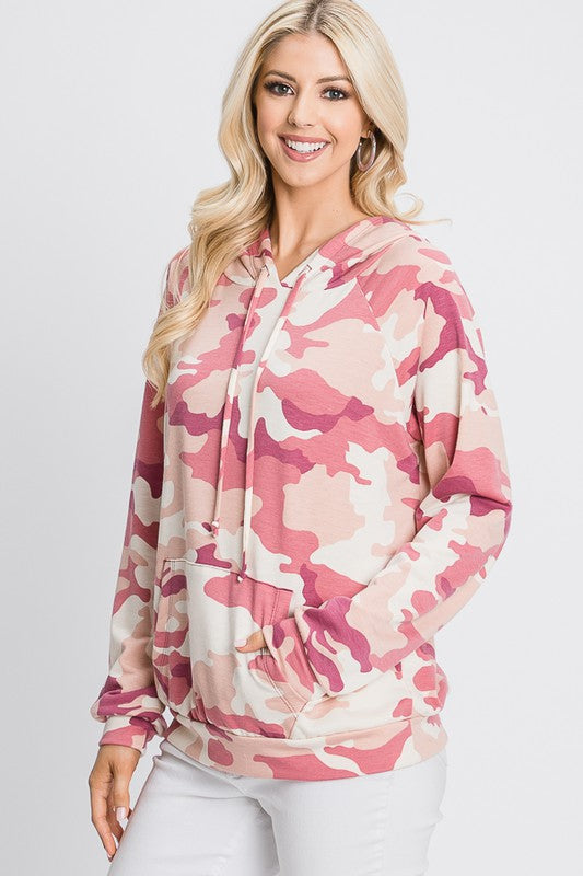 The Brienne - Women's Plus Size Top with Hood