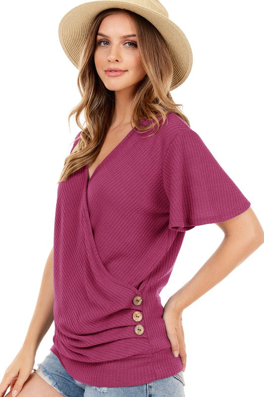 The Gabrielle - Women's Top in Marsala