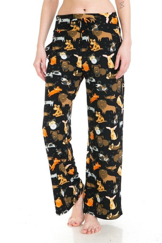 Day at the Dog Park - Women's Pajama Lounge Pant