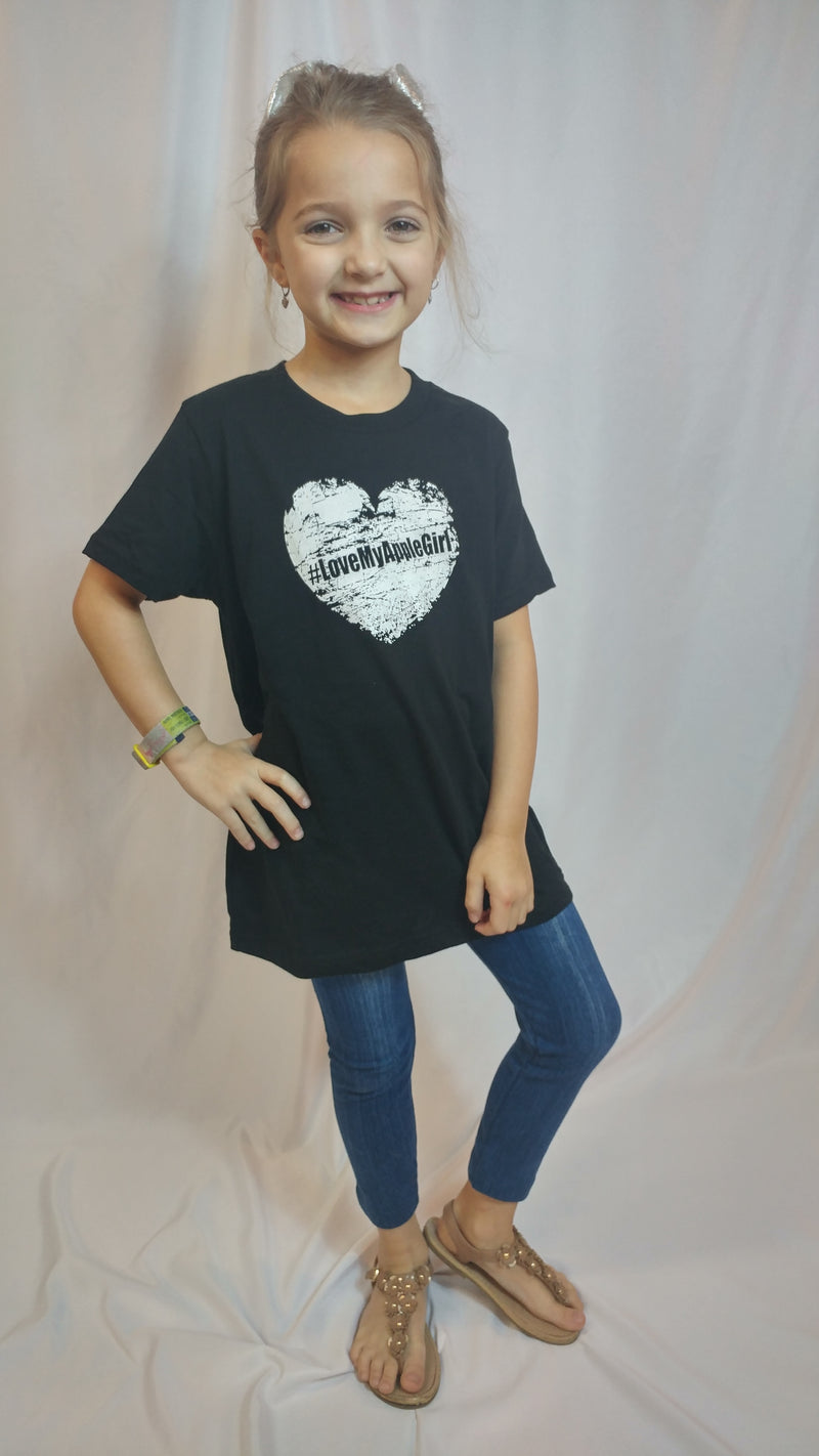 #LoveMyAppleGirl Official Tee Shirt - Girls
