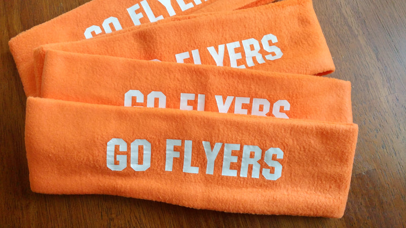 GO FLYERS FLEECE HEADBAND