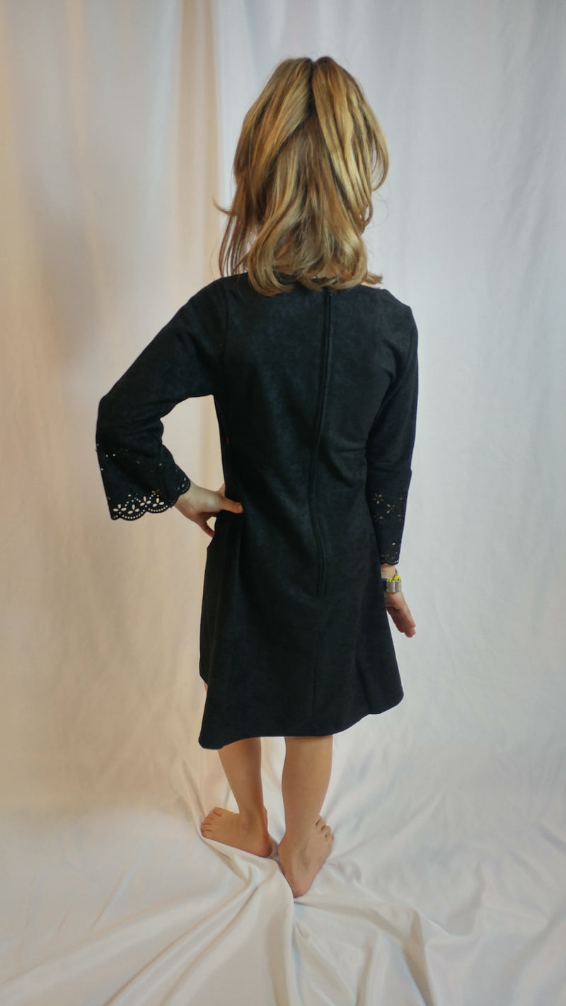 The Isabella - Girls Velvet Dress