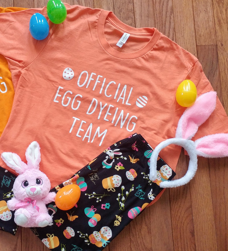 Official Egg Dyeing Team - Women's Tee