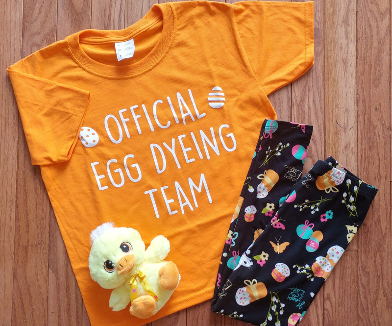 Official Egg Dyeing Team - Youth Tee