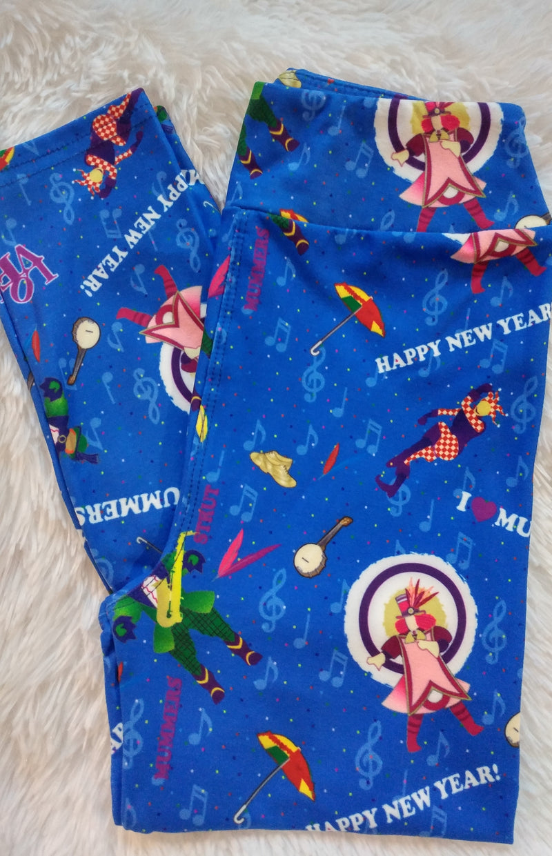 Mummers Strut - Girls Leggings