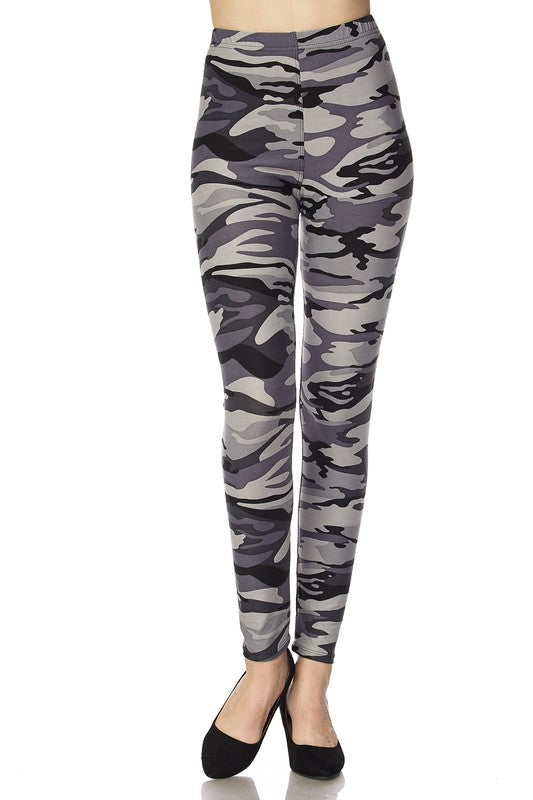 Secret Mission - Women's Plus Size Leggings
