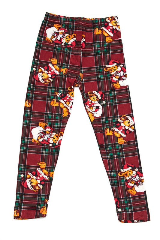 Teddy Claus - Girls Leggings
