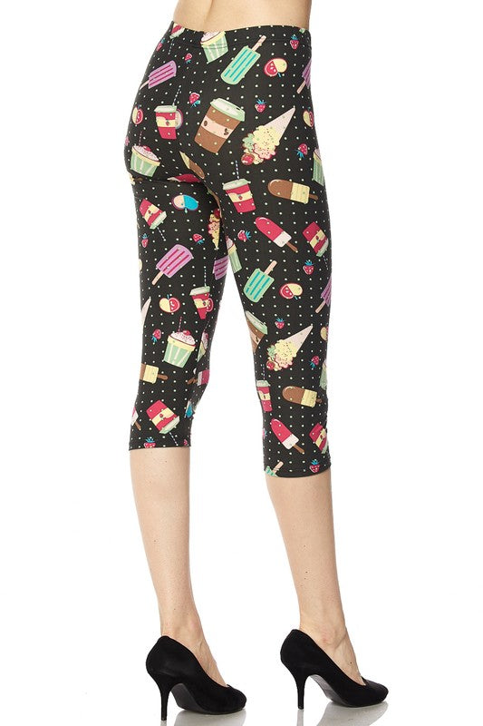 Sugar Rush - Women's One Size Capris
