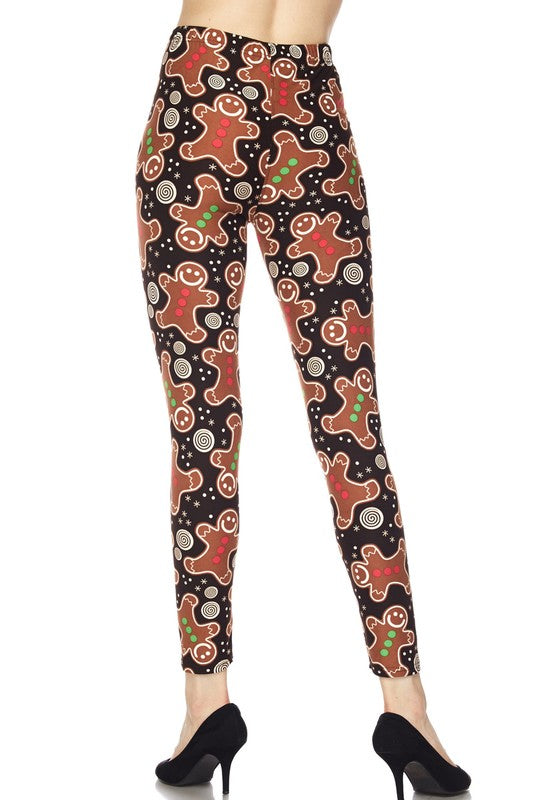 Christmas Cookie - Women's Plus Size Leggings
