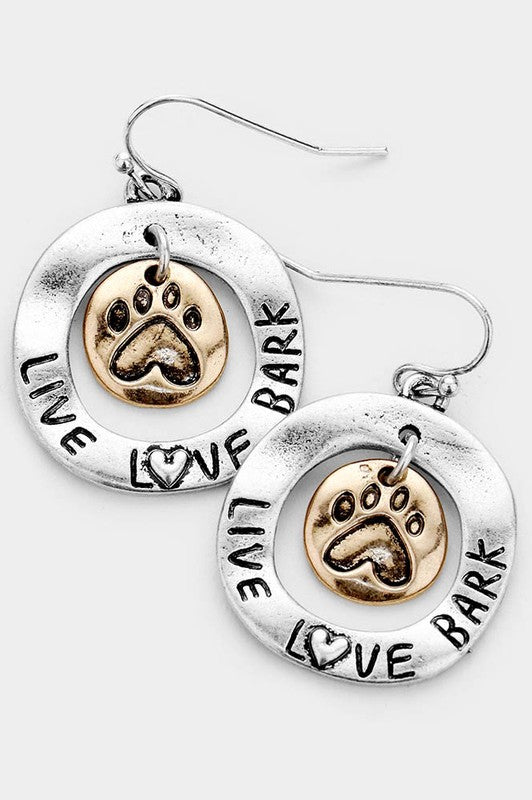 Live Love Bark Earrings