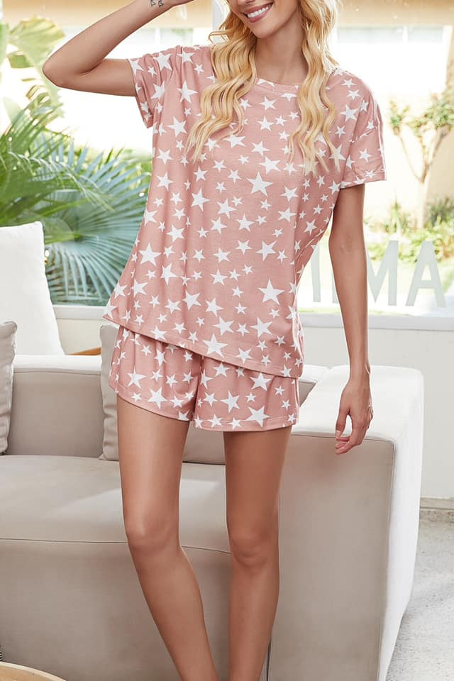The Andromeda - Women's Two Piece Pajama Short Set