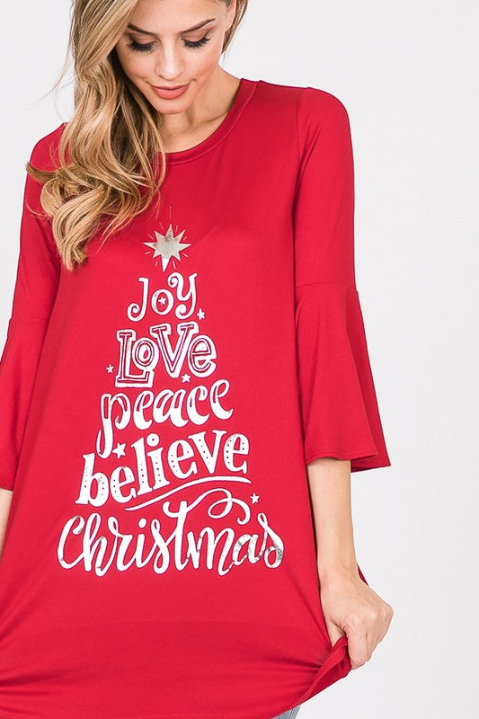 The Joy - Women's Top in Red