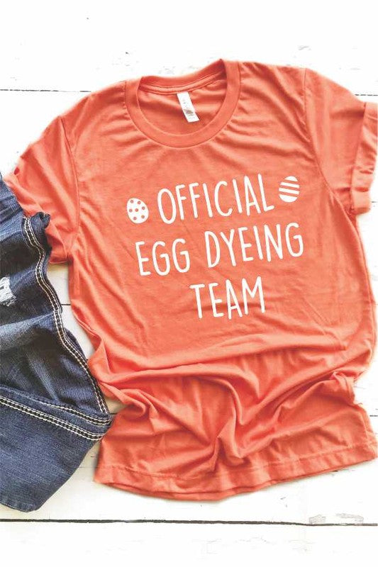 Official Egg Dyeing Team - Women's Plus Size Tee