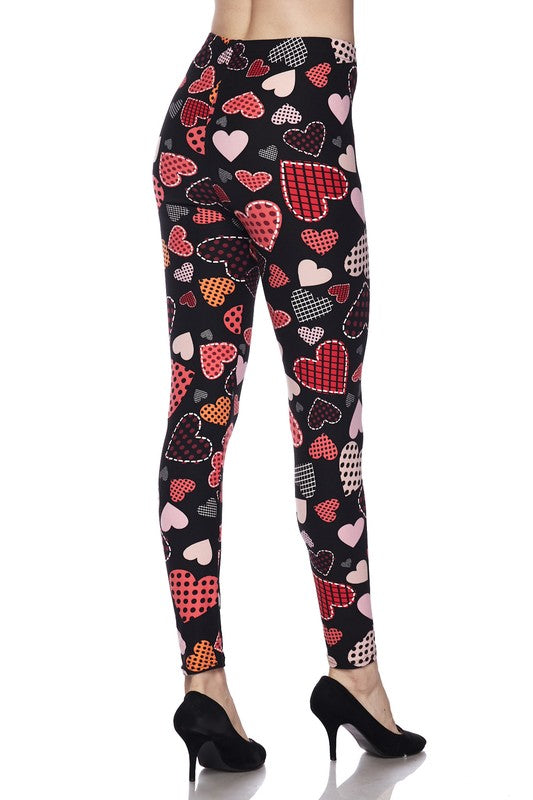Love Those Patches - Women's One Size Leggings