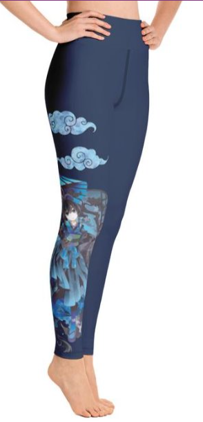 a5b1e079d9926f Anime Girl Masami - Women's One Size Leggings – Apple Girl Boutique