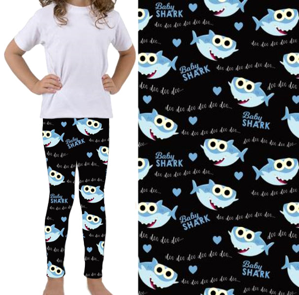 Baby Shark - Girls Leggings