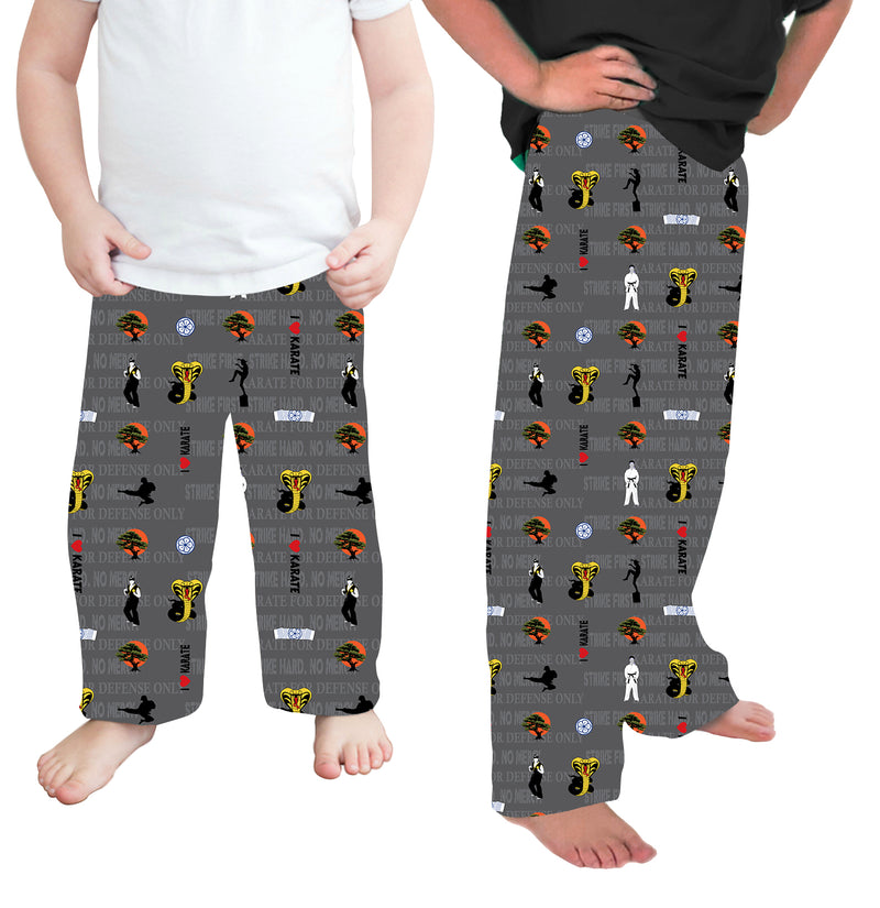 Dueling Dojos - Kids Lounge Pants Unisex- PRE-ORDER by January 31st