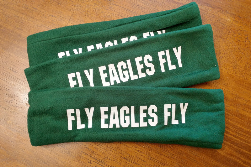 FLY EAGLES FLY FLEECE HEADBAND