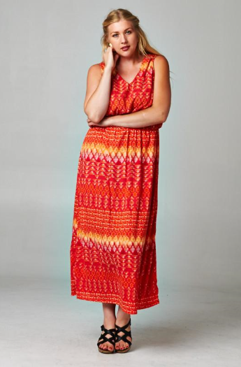 The Faith - Women's Plus Size Maxi Dress
