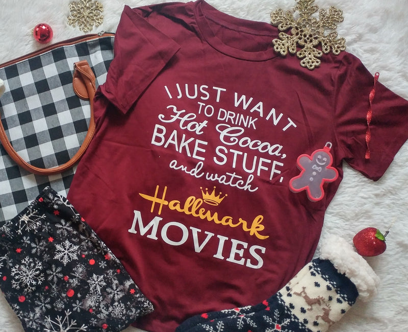 Hallmark Movie Watcher - Women's Top