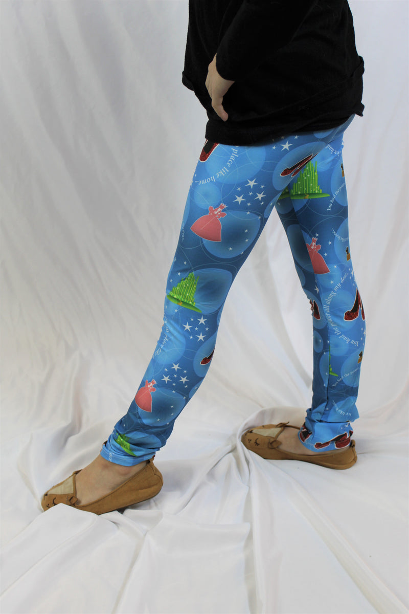 No Place Like Home - Girls Leggings
