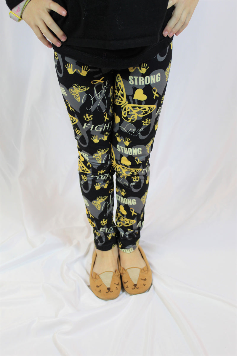 Flying Towards a Cure - Girls Leggings