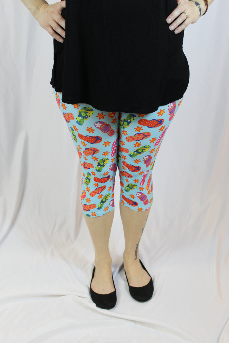 Flippin Through Summer Capris - Women's