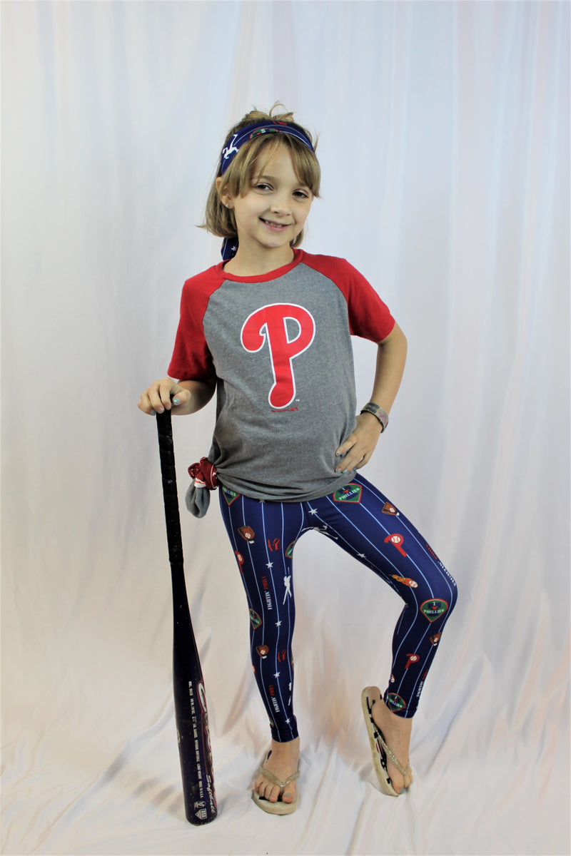 I Love Phillies Leggings - Girls