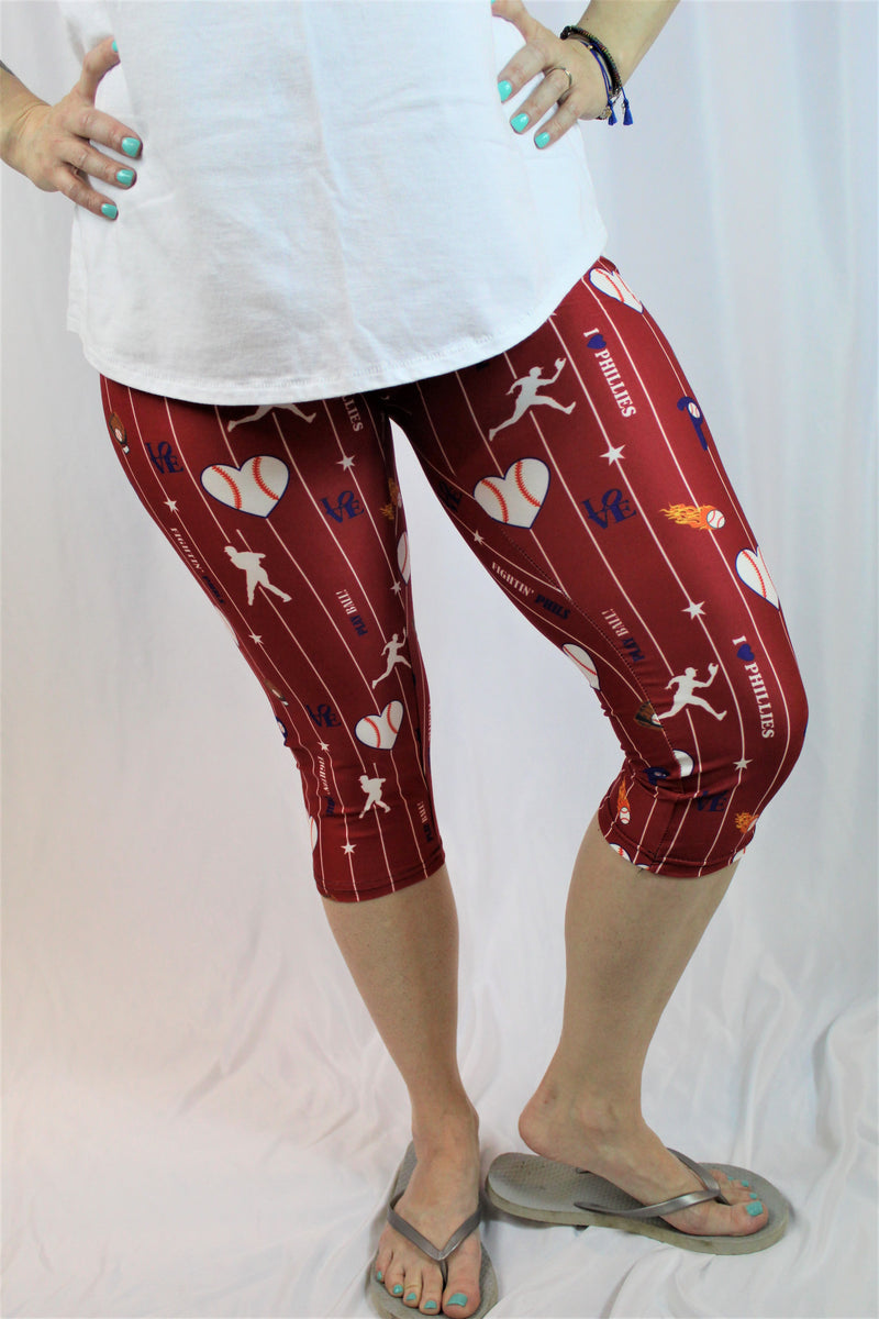 Phillies Have My Heart Capris - Women's