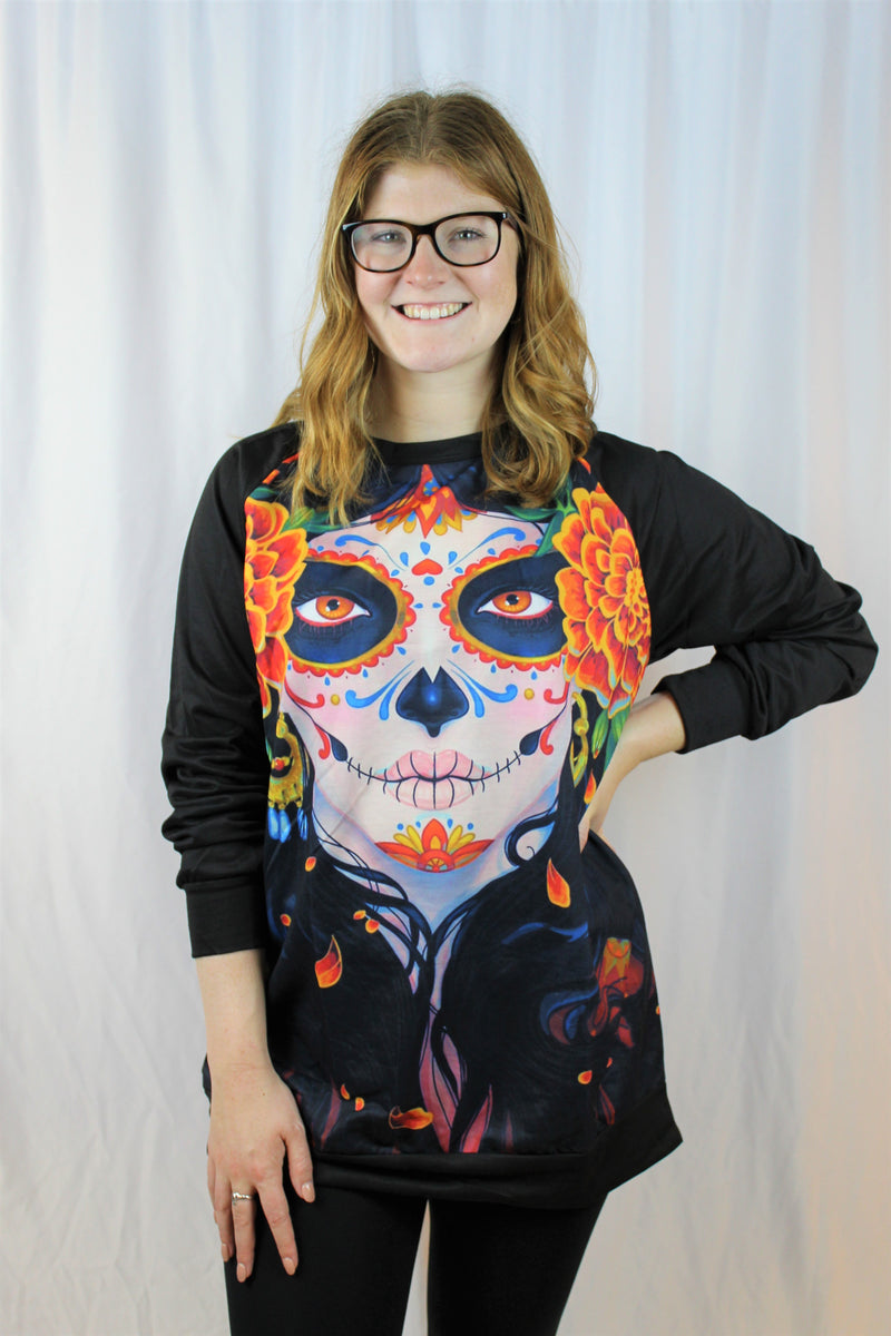 Day of the Dead Princess Women's Top