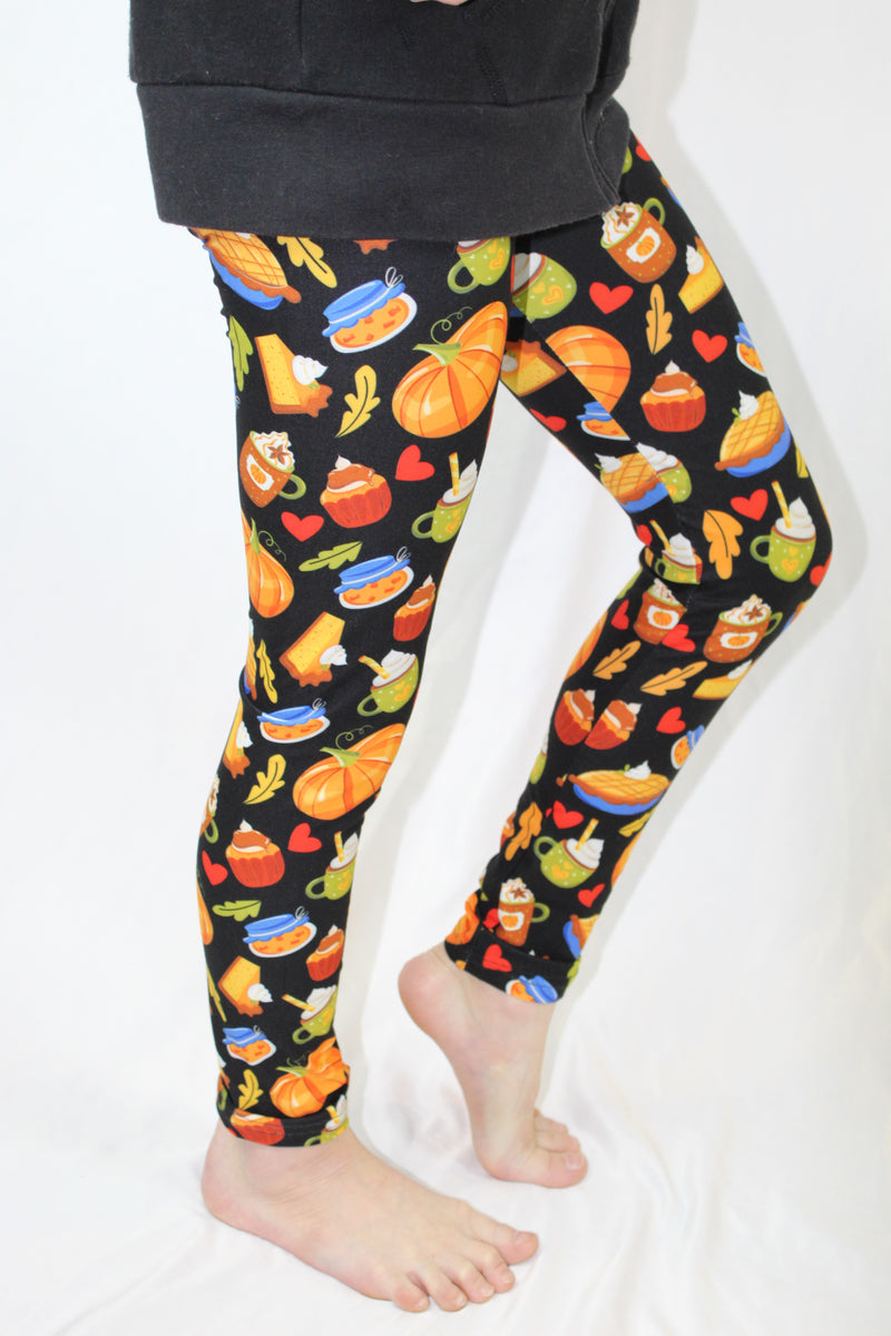 Pumpkin Spice & Everything Nice - Girls Leggings