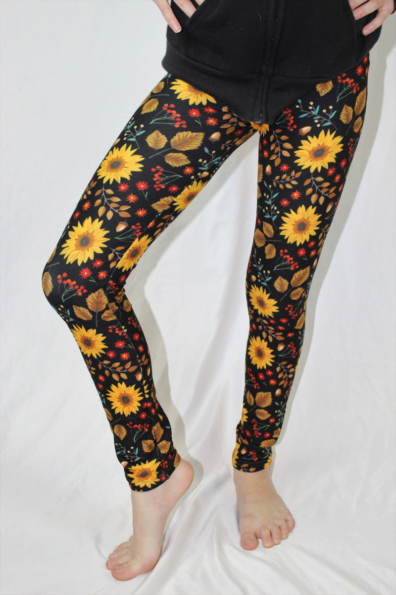 Autumn Fields Girls Leggings