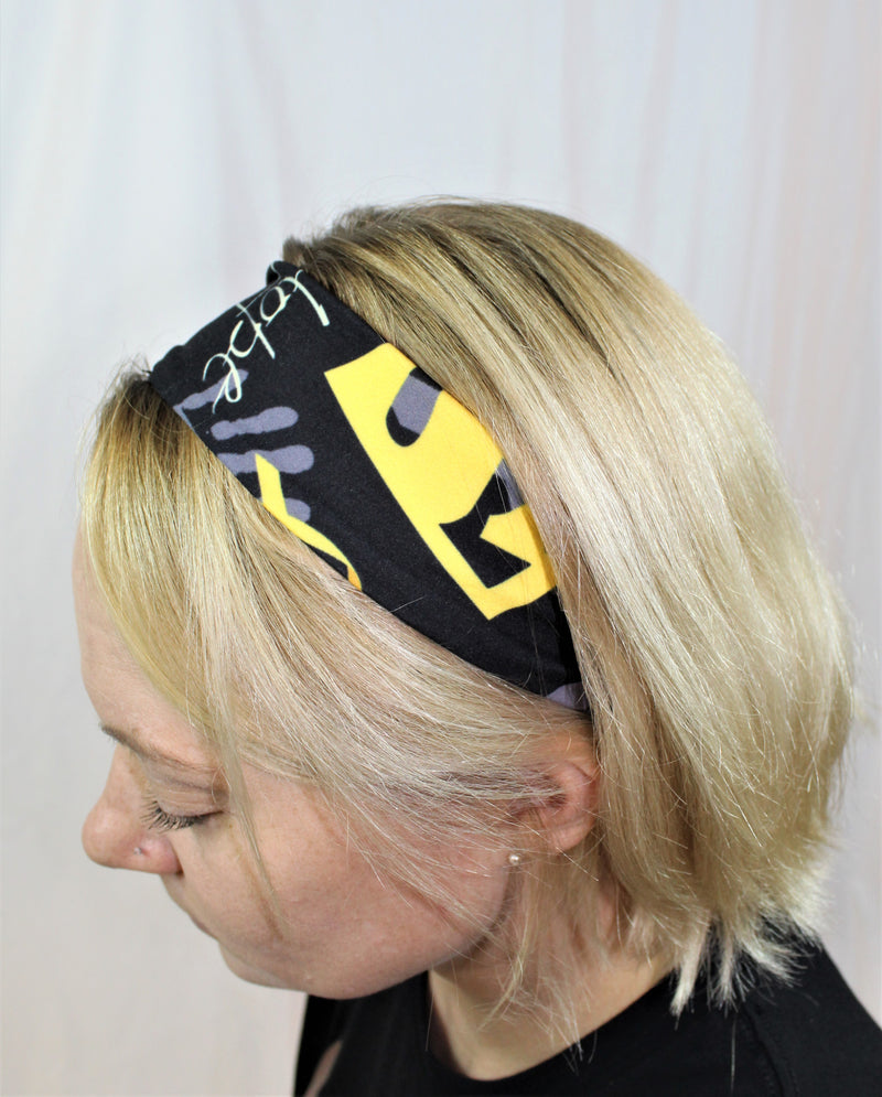 Superhero Childhood Cancer Awareness Headband